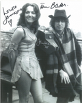 Tom Baker, Louise Jameson, John Leeson - Multi signed original autograph not a copy 10259